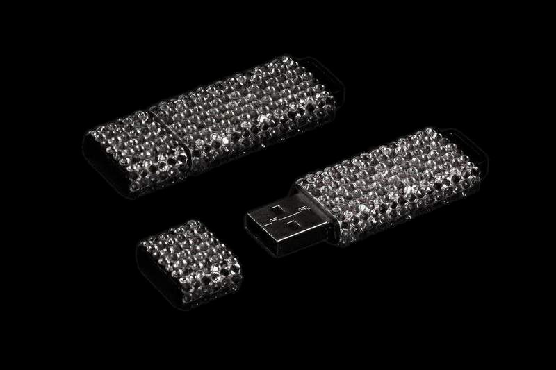 Swarovski USB Flash Drives - Incrustation by Art-Studio MJ