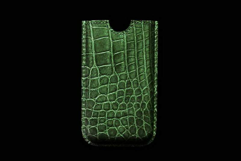 Luxury Mobile Case from Genuine Leather (Crocodile, Eel, Stingray, Frog, Cow, Bull, Shark, Alligator, Varanus, Iguana, Lizard, Snake Skin).