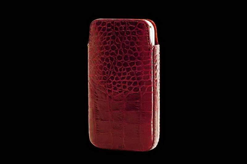 Luxury Mobile Case from Natural Crocodile Leather.